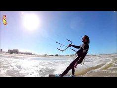 Blade Kiteboarding Cape Town - Nicholas Beamish on a demo   Blade High s...