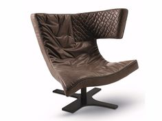 ROXY Armchair with 4-spoke base by Arketipo design Giuseppe Viganò
