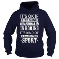 Funny Handball Handballer Shirt Smart People - Mens Premium T-Shirt  LIMITED TIME ONLY. ORDER NOW if you like, Item Not Sold Anywhere Else. Amazing for you or gift for your family members and your friends. Thank you! #handball #shirts