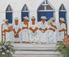Sunday Church in Rarotonga