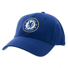In the iconic club colours and featuring the club crest at the front, this Chelsea FC cap is not only fashionable but also functionable. FREE DELIVERY on all of our football gifts Football Team Gifts, Football Caps, Baseball Cap, Epl Football, Soccer Gear, Soccer Shop, Chelsea Wallpapers, Team Cap, English Premier League