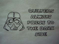 Darth Vader embroidery by color and pattern, via Flickr    http://www.feelingstitchy.com/2011/08/if-you-only-knew-power-of-dark-side.html#