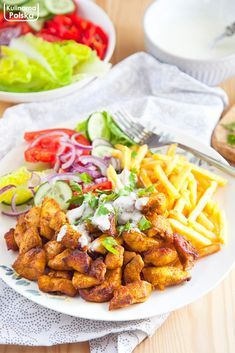Date Recipes, Cooking Recipes, Healthy Recipes, Polish Recipes, Pork Dishes, Lunches And Dinners, Chicken Recipes, Food And Drink, Ethnic Recipes