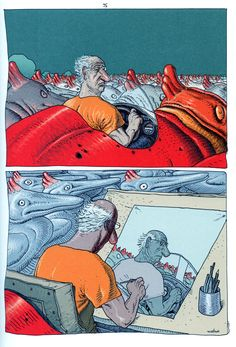 Inside Moebius by Moebius *