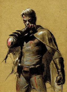Bruce Wayne by Gerald Parel.