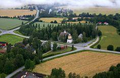 Nurmo Lutheran church, South Ostrobothnia province of Western Finland. Church Building, Lutheran, Finland, Westerns, Golf Courses, Buildings