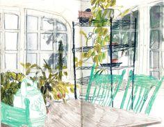 Maine sketchbook - Charlotte Ager illustration