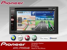 DAB Radio Multi-sensor GPS, Entertainment & Communication System - Pioneer AVIC-F950DAB !! Buy now from Dynamicsounds.co.uk