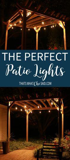 The Perfect Patio Li