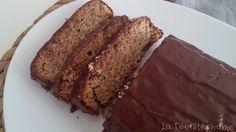 La Fée Stéphanie: Cake au citron végétalien à la farine de sarrasin, nappé de chocolat noir (sans gluten)