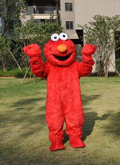 Elmo Sesame Street Mascot Costume, High Quality & Competitive Price. Mascotshows.com have great deals for sesame street mascot and mascot costume. Shop with confidence.