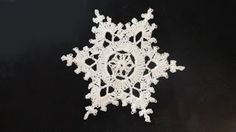 how to crochet snowflakes - YouTube