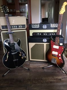Gibson es-135 Dr Z Remedy 65 Amps Producer Fender Jazzmaster Relic