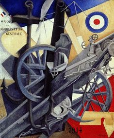 """Plastic Synthesis of the Idea of War,"" by Gino Severini, 1915"