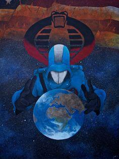 Cobra Commander by ~simonbearedwards on deviantART