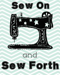 Family Ever After....: Free Sewing Printable