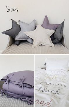 Purple with charcoal is perfect together! LOVE the color comforter!