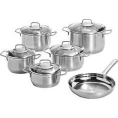 Reduced Induction Pot Sets Ad 1 Reduzierte Topfsets Induktion Wmf Saucepan Set Stainless Steel 6 Pieces Silve Cookware Set Stainless Steel Wmf Cookware Set