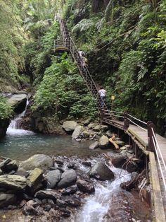 Linmei Shipan Trail at Yilan, Taiwan
