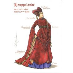 houppelande - Google Search