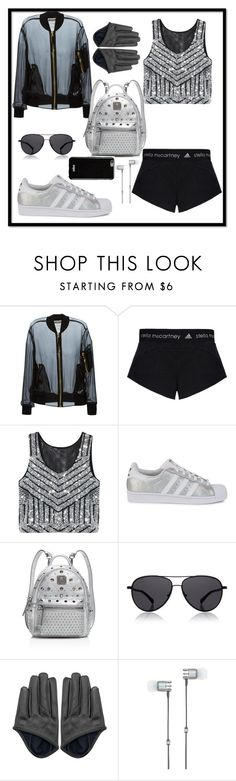 """""""Outfit #391"""" by sofi6277 on Polyvore featuring Moschino, adidas, adidas Originals, MCM, The Row, Master & Dynamic, Givenchy, women's clothing, women and female"""