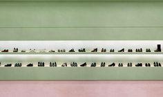"""A detail of Andreas Gursky's """"Prada I,"""" 1996, C-Print"""