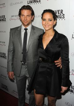 Bradley Cooper and Jennifer Lawrence - 'Silver Linings Playbook' Screening