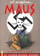 Maus by art spiegelman (not strictly a picture book, visual literature in the form of graphic novel)