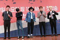 Monsta X Shownu, SHINee Taemin, NCT Ten, Infinite Hoya & Block B U-Kwon