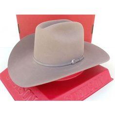 Stetson Cowboy Hat 4X Beaver Fur Sutter Comfort Slate