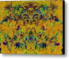 Gelsomino Canvas Print / Canvas Art By Dorothy Berry-lound #yellow #interiordecor #colourharmony