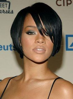 Rihanna Straight Short Lace Wig[CLW19]