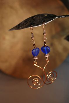 ( 1 ) Under $50 Handmade and vintage wire wrapped and or beaded earrings ear rings  by Family Of Locked And Loved Boutique on Etsy