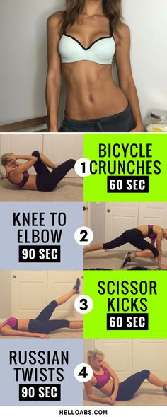 4 Exercises To Reduce Tummy In 7 Days