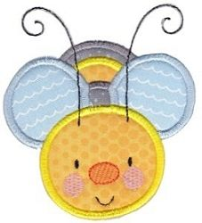 Busy Bees Applique 7   3 Sizes! | Whatu0027s New | Machine Embroidery Designs |