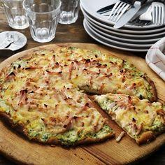 Pizza, Vit, Quiche, Cheese, Breakfast, Food, Breakfast Cafe, Essen, Quiches