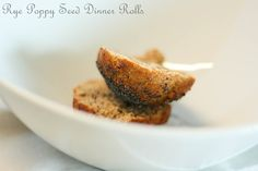 Rye Poppy Seed Dinner Rolls by Eat Chic Chicago. High in fiber and protein and easy to make! Find the recipe at http://www.eatchicchicago.com/blog/2014/01/09/rye-poppy-seed-dinner-rolls/