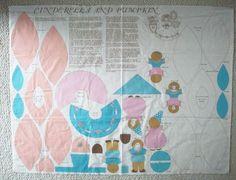 Cinderella doll panel