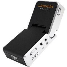 WowWee 8410 Cinemin Swivel Portable Audio/Video Multimedia Pico DLP Mini LED Projector