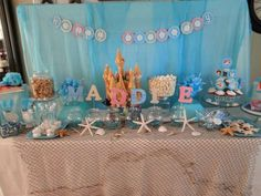 Under The Sea Little Mermaid Party | CatchMyParty.com