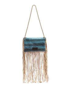 Sam Ubhi - Full Fringed Clutch Bag – Blue Snake with Handle Blue Bags, Clutch Bag, Snake, Handle, Jewelry, Jewlery, Jewerly, Clutch Bags, Schmuck