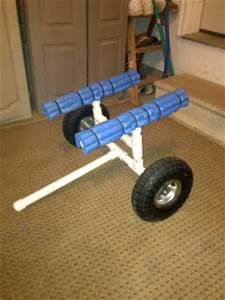 DIY Kayak Cart Kayak Stand, Kayak Cart, Kayak Trailer, Wooden Toys, Trailers, Kayaking, Projects To Try, Fitness, Diy