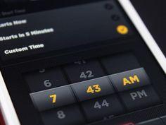 App UI Design – Date Picker