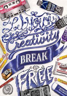Remarkable Typography Designs for Inspiration – 26 Examples   Typography   Graphic Design Junction #typographydesign #fonts #typefaces #lettering #illustration