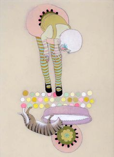 Little Fashion Gallery loves jennifer Davis Paintings  #littlefashiongallery