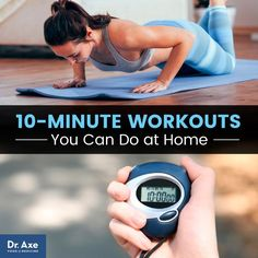 At-home 10-minute workouts - Dr. Axe