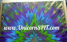 Unicorn SPiT over gold metallic spray paint then sealed Evil Unicorn, Unicorn Land, Unicorn Names, Unicorn Fantasy, The Last Unicorn, Magical Unicorn, White Unicorn, Unicorn Horn Makeup Brushes, Unicorn Makeup
