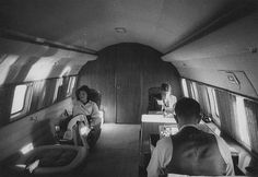 Jackie ans Jack on the board of Air Force One.