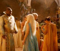 Daenerys Targaryen Costume for Halloween- back of the dress