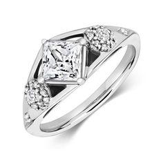 Luci Solitaire Ethical Brilliant Cut Diamond Engagement Ring